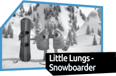 Little Lungs Snowboarder