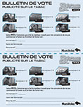 Bulletin de vote - eVALUER & Classer