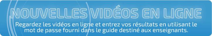 Nouvelles vidéos en ligne