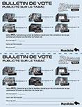 Bulletin de vote - eVALUER & Classer 2020